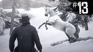 Red Dead Redemption 2 - TAMING THE BEST HORSE IN THE GAME - Part 13