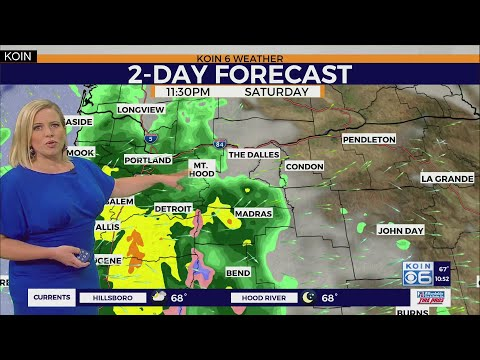 WEATHER FORECAST: Cooler, Rain, T-storms This Weekend