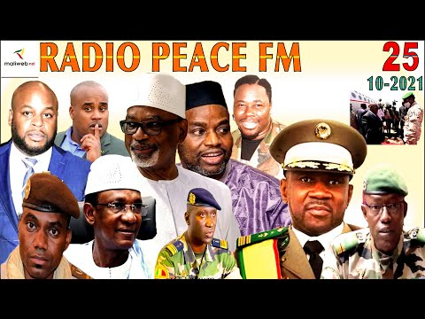 La Revue de Presse de la RADIO PEACE FM du 23 OCTOBRE 2021