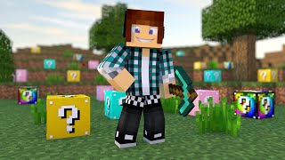 Minecraft Lucky Blocks SEM MODS !! ( No Mods Minecraft)