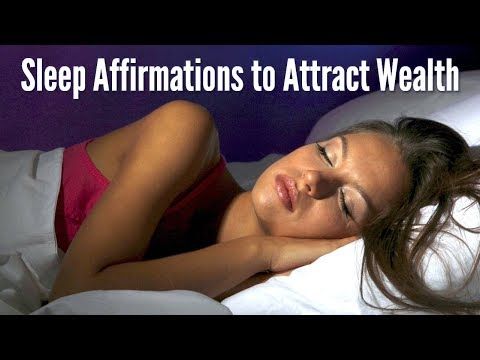 Sleep Affirmations to Attract Wealth & Abundance (528Hz)