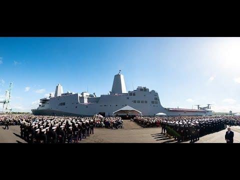 USS Portland (LPD 27) Commissioning Ceremony