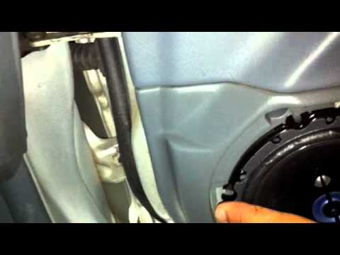 1998 civic front speaker replacement 4door lx youtube publicscrutiny Gallery