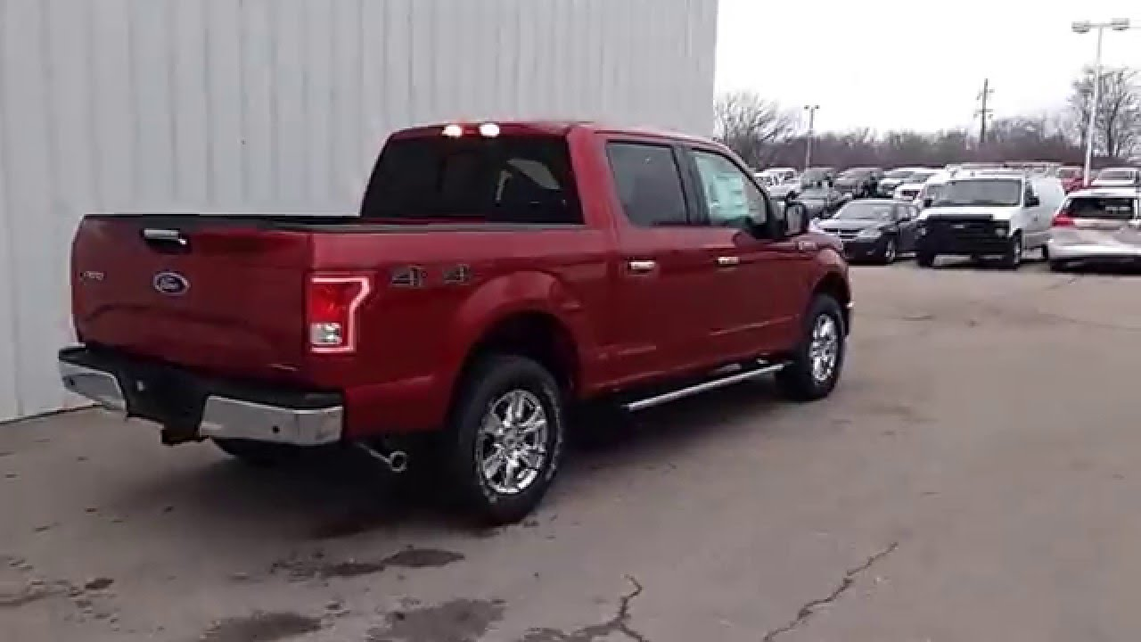 302a Package F150 >> Ruby Red 2016 F-150 SuperCrew 4x4 XLT 3.5L V6 302A 5.5' Bed Tow Package - YouTube