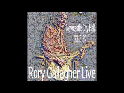 Rory Gallagher - Newcastle 1982