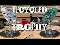 Trophy I upcycled for FRN UK - Writing for Reloved Magazine!