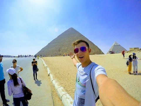I went to Egypt!