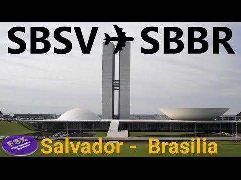[FSX] [IVAO] Voo completo Airbus A319 | Salvador ✈ Brasilia
