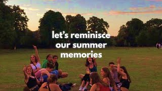 let's reminisce our summer memories 🚗