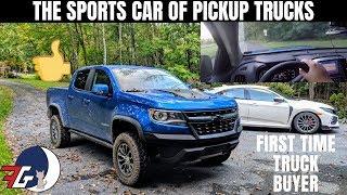 Chevy Colorado ZR2 Driving Dynamics | HOONING a Pickup TRUCK!