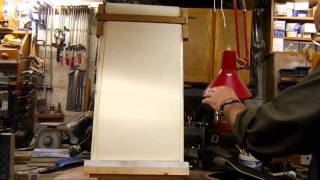 Airbrush Magnetic Easel