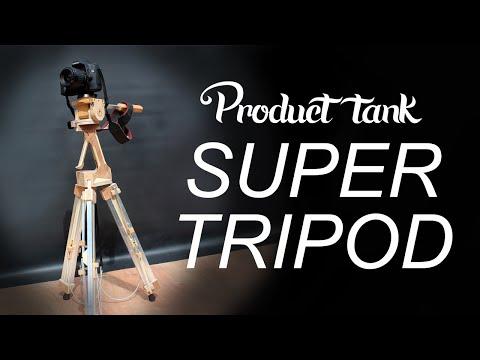 Product Tank Prototypes a Slick One-Handed Camera Tripod