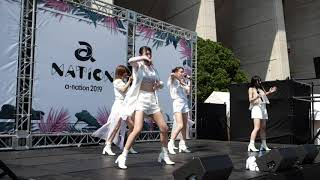 Chuning Candy『BESIDE』@ a-nation 2019 大阪公演 Community Stage in ヤンマースタジアム長居 2019/08/17