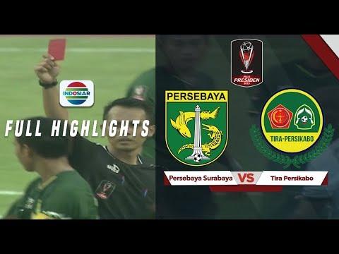 Persebaya Surabaya (3) vs (1) Tira Persikabo - Full Highlights | Piala Presiden 2019