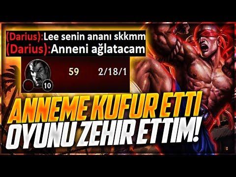 ANNEME KÜFÜR ETTİ !! OYUNU ZEHİR ETTİM ADIM ATTIRMADIM !! LEE SİN VS MASTER Yİ