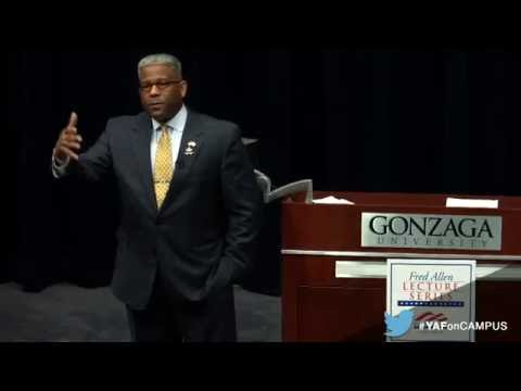 Allen West Tears Radical Islam Apart @ Gonzaga University