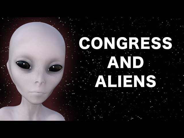 Congressman Says Aliens Are Here