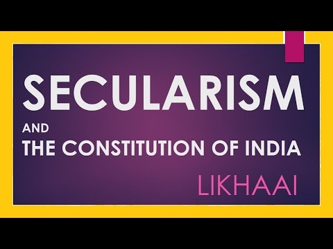 Polity Lecture (IAS) : Secularism and The Constitution Of India (Preamble)