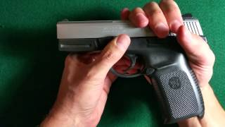 Video How To: Dis-assembly (Field Strip) of S&W SW40VE download MP3, 3GP, MP4, WEBM, AVI, FLV Januari 2018
