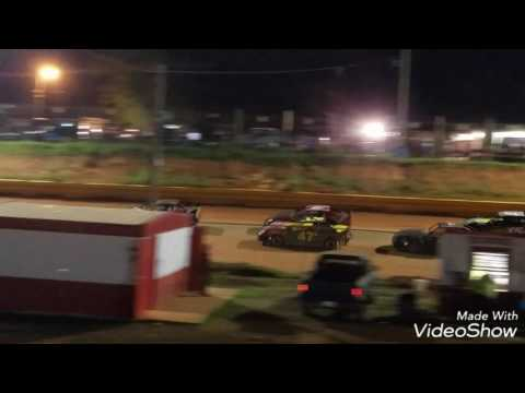 H3 Harley Holden Stock 4 Main @ Toccoa Raceway 4-22-17 (Jackie Holden win)