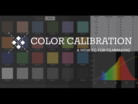How to COLOR CALIBRATE for FILMING in 4 Minutes