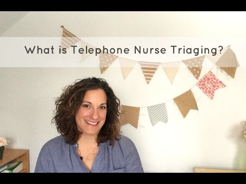 What Is Telephone Triage Nursing