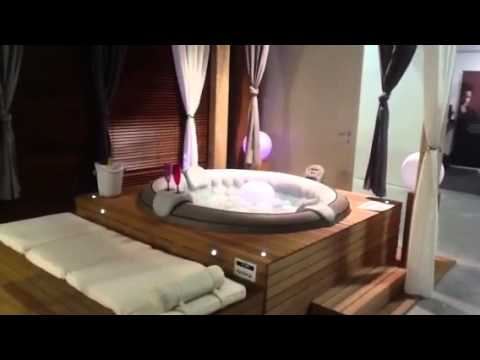 Jacuzzi gonflable youtube - Spa gonflable interieur ...