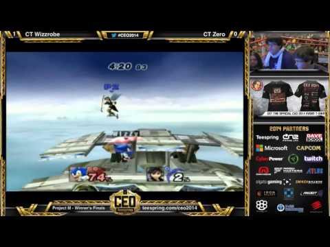 WF: CEO 2014 - Wizzrobe (Sonic) vs. Zero (Pit)