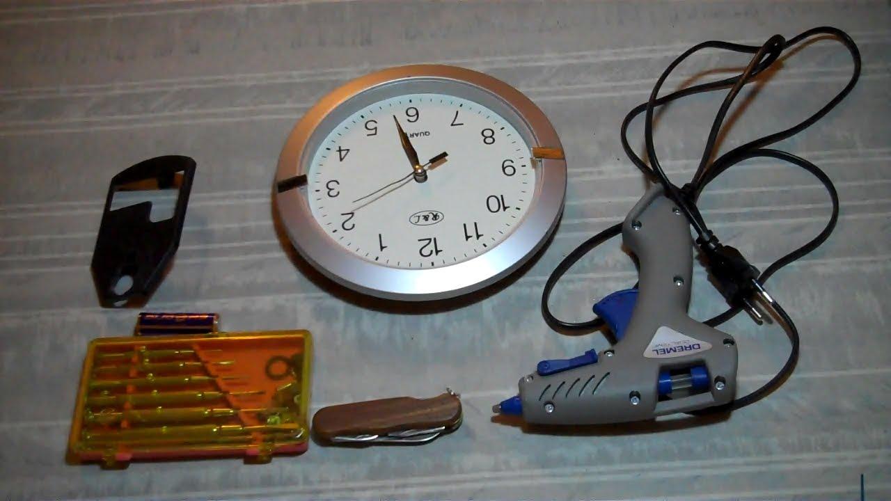 Ремонт настольных часов своими руками