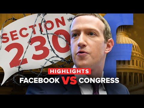 Congress vs. Facebook: Best moments in 16 minutes (supercut)