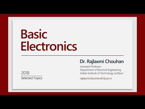 Basic Electronics - Lecture 01 Kirchhoff's Current Law - Dr. Rajlaxmi Chouhan