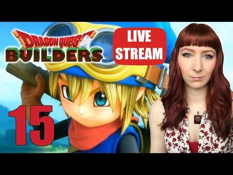 Dragon Quest Builders Ps Vita / PS4 LIVE STREAM Let's Play Walkthrough Part 15 - 동영상