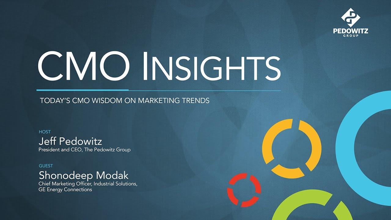CMO Insights: Shonodeep Modak