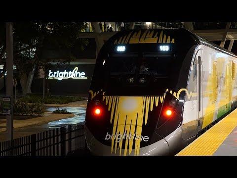 America's Most Advanced Train - FIRST RIDE ON BRIGHTLINE!