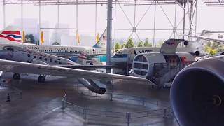 Tour of Airliners at The Seattle Museum of Flight