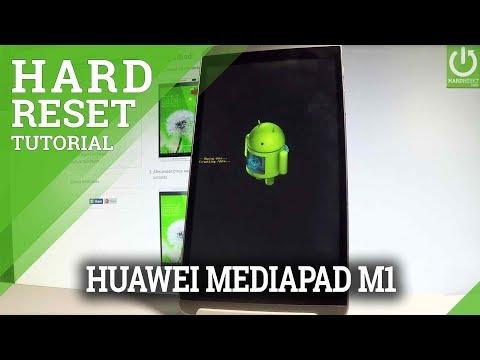 HUAWEI MediaPad M1 Hard Reset / Bypass Pattern / Wipe Data
