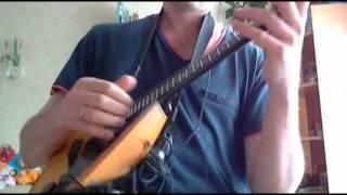 """Metallica """"The Unforgiven III"""" balalaika cover  (Home video)"""