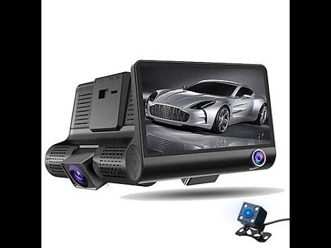 Unboxing HD Car DVR Car Camera Recorder Dash Cam G-sensor