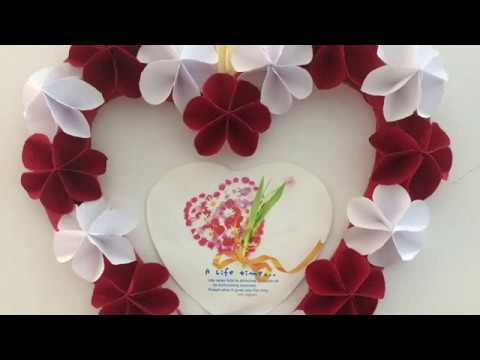 Best Photo Frame Idea Using Paper Flowers Home Decoration