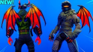 'NOUVEAU' DEMON WINGS Back Bling sur tous les skins DARK! (Showcase) Fortnite Bataille Royale