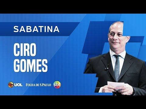 SABATINA COM CIRO GOMES - UOL/FOLHA/SBT - 03/09