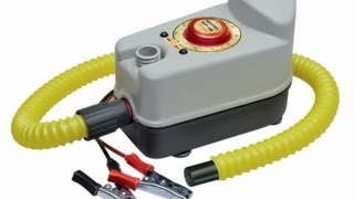 Bravo BP 12  nflatable Boat Electric Pump in Action 12 v