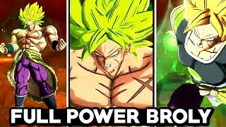 NEW FULL POWER BROLY LEGENDS GAMEPLAY! Dragon Ball Legends Transforming Full Power Broly Gameplay