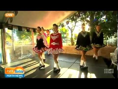 St Patrick's Day Keady Upton Irish Dancing Part 1 | Today Perth News