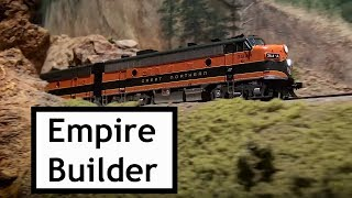 The Great Northern Empire Builder at the Colorado Model Railroad Museum