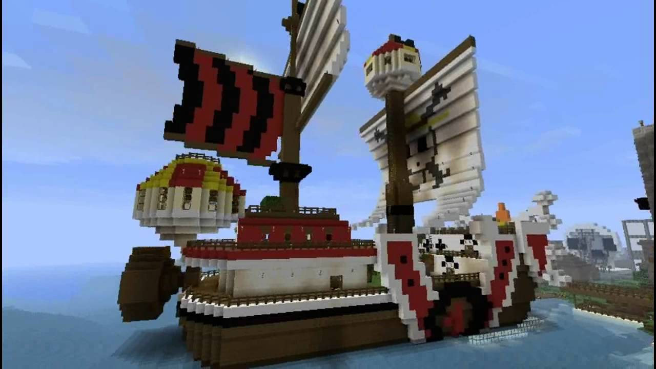Thousand Sunny 2 0 Dans Minecraft Afflito Youtube