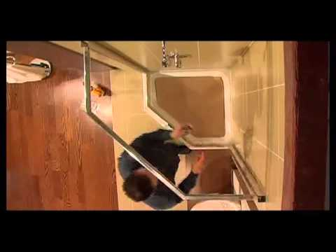 Maax - Intuition Shower Door - YouTube