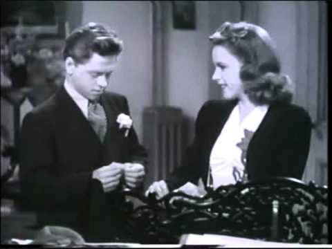 Judy Garland & Mickey Rooney...Hollywood Christmas Parade '1940 ...