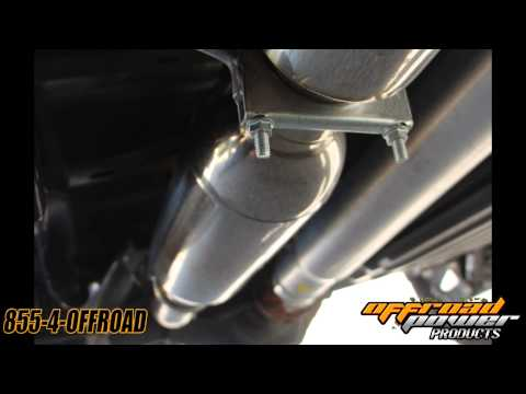 Aero Turbine Exhaust 2013 Ford F-150 EcoBoost Truck Sound