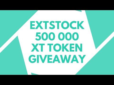 EXTSTOCK EXCHANGE - Получите 50 XT Token FREE! Пул 500 000 XT / Криптовалюта бесплатно / Crypto Free